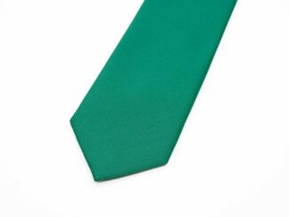 Green Silk Necktie
