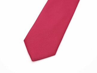 Hot Pink Silk Necktie